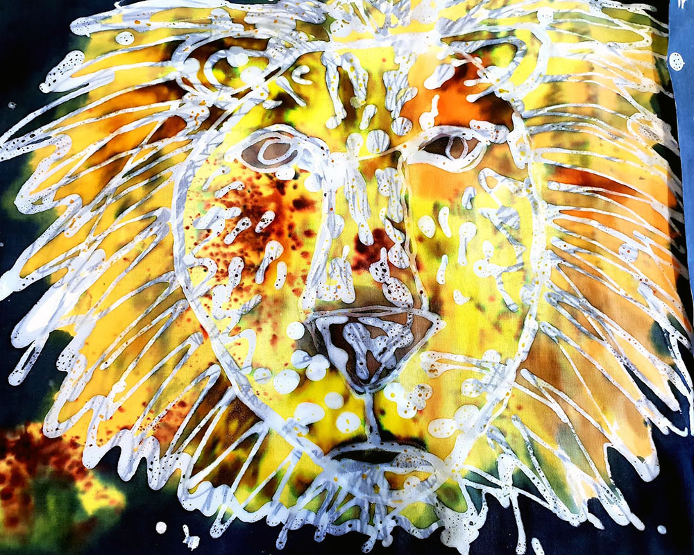 Sutton High School / Batik Lions, part of Year 4 project on Narnia