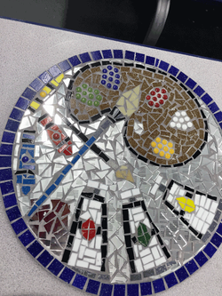 Essex Primary / Values Tree Playground Mosaic