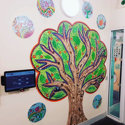 St. Saviour's Primary School / Values Tree/ Welcome Sign