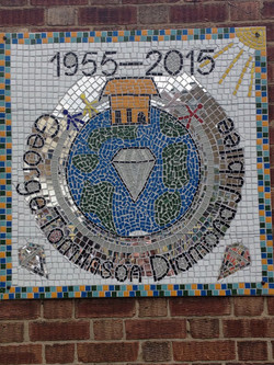 George Tomlinson Primary / Diamond Jubilee Playground Mosaic