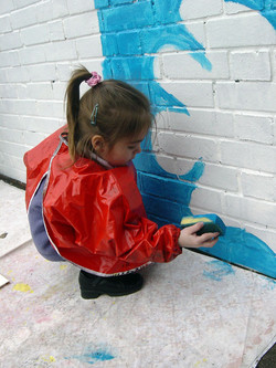 Mission Grove Primary School / Whole School Mural Project