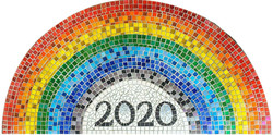 Parkside Primary / Remembrance/ 2020 / NHS Rainbow