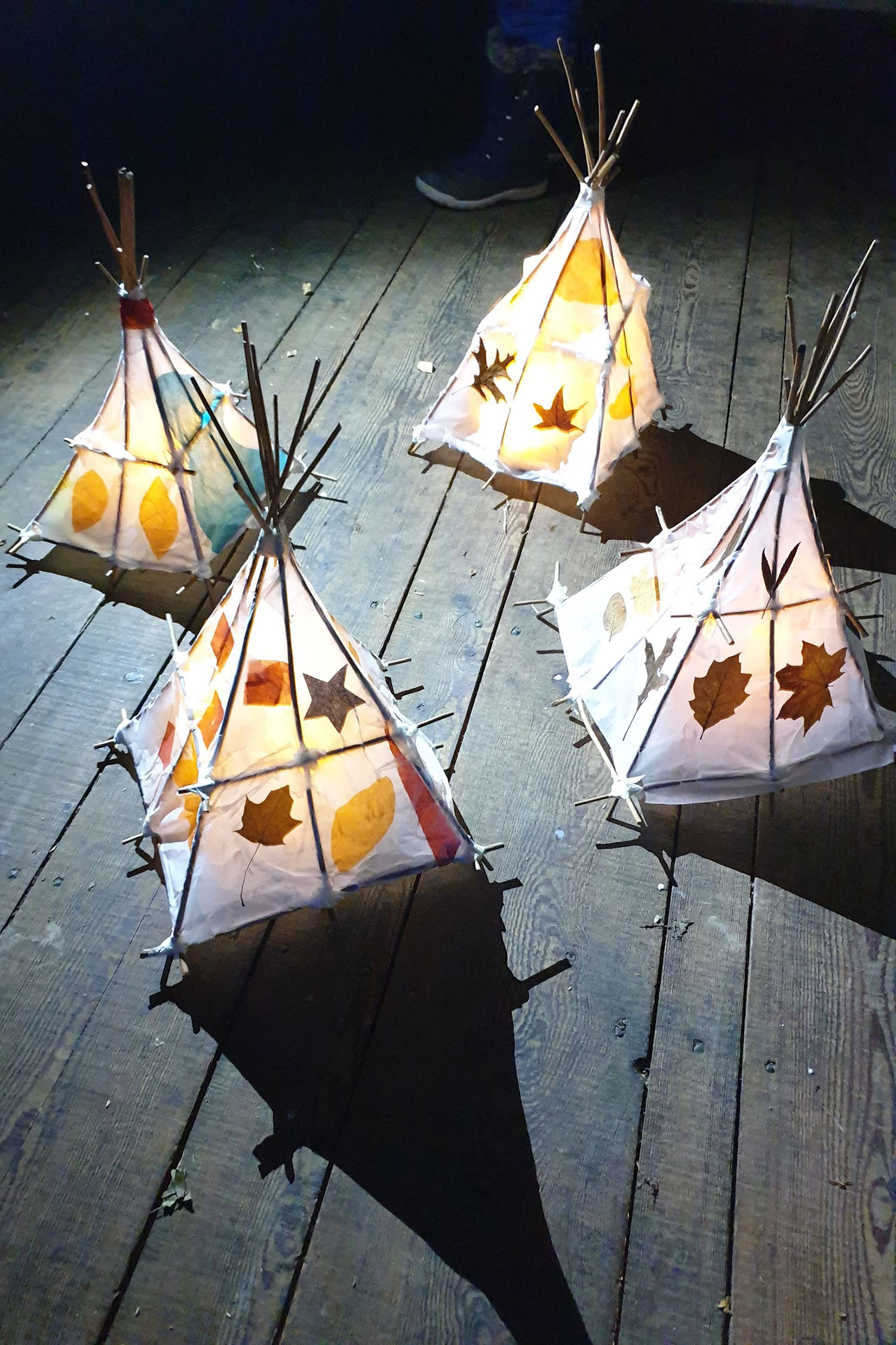 Withie Sculpture Lanterns / LB Waltham Forest Art Trail Project 2019