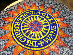 Wanstead Church School Welcome Mosaic