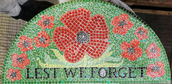 Parkside Primary / Remembrance mosaic