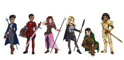 Character designs 1