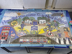 Avon House Prep School / Playground Mosaic