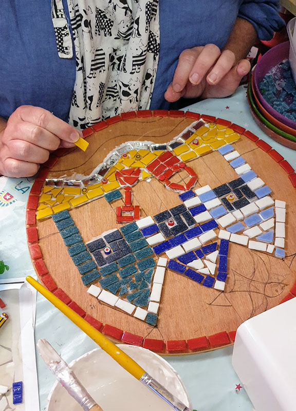 Mindful Mosaic Making INSET 2020