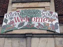 Fairlop Primary / Whole School Welcome Sign