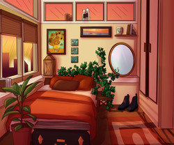Bedroom scene 1