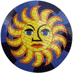 Sun Table Top Commission, one of series for a Mexican Restaurant Chain