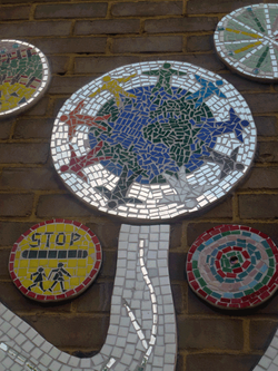 Wanstead Church Primary / Values playground Mosaic