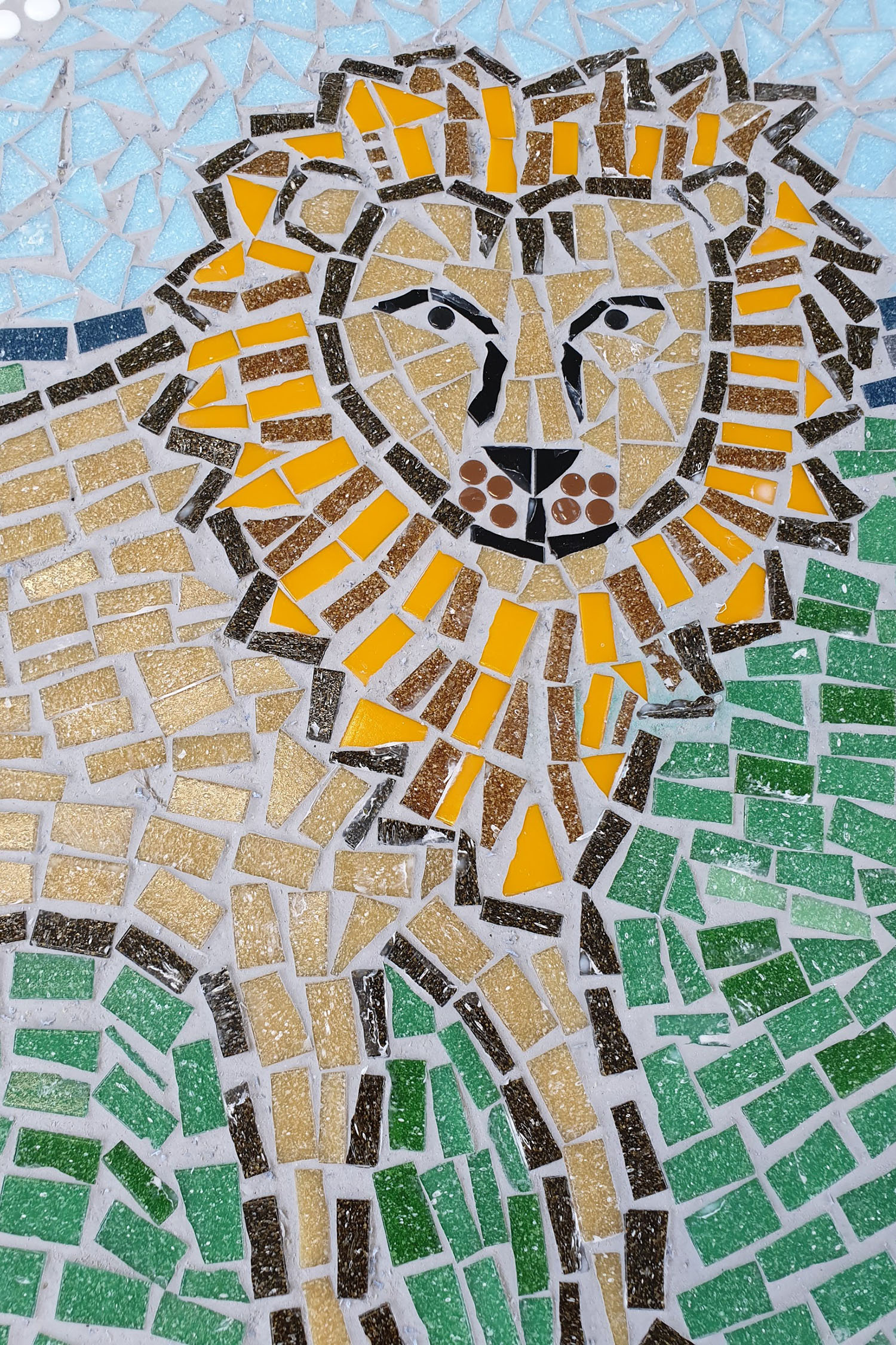 Beacon View Primary School / African Animals Mosaic