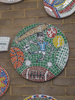 Wanstead Church Primary / Values Tree Playground Mosaic