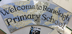 Ranelagh Primary School / Values Welcome Sign Mosaic