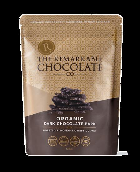 Organic Chocolate Bark | Almond & Popped Quinoa