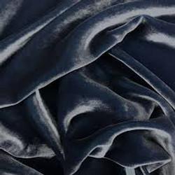 James- velours bleu prussien