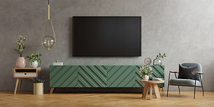 tv-wall-mount-cabinet-modern-living-room