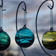 Mint, Teal and Olive Wisp Baubles