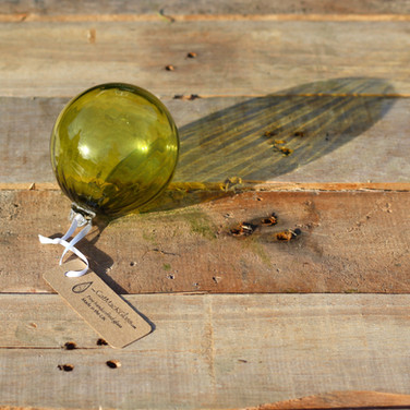 Olive Optic Bauble
