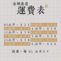 King Kong Express - Shipping Fee (square