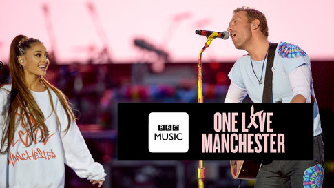 Chris Martin and Ariana Grande - Don't Look Back In Anger