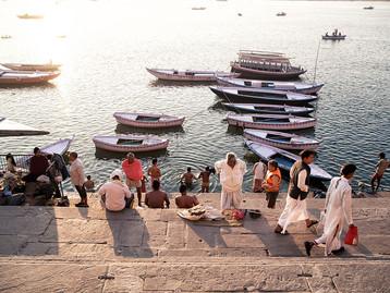 인도여행 #3 바라나시에서 선재보트를 타다.