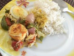 Bhagyajit 와이프가 해준 요리