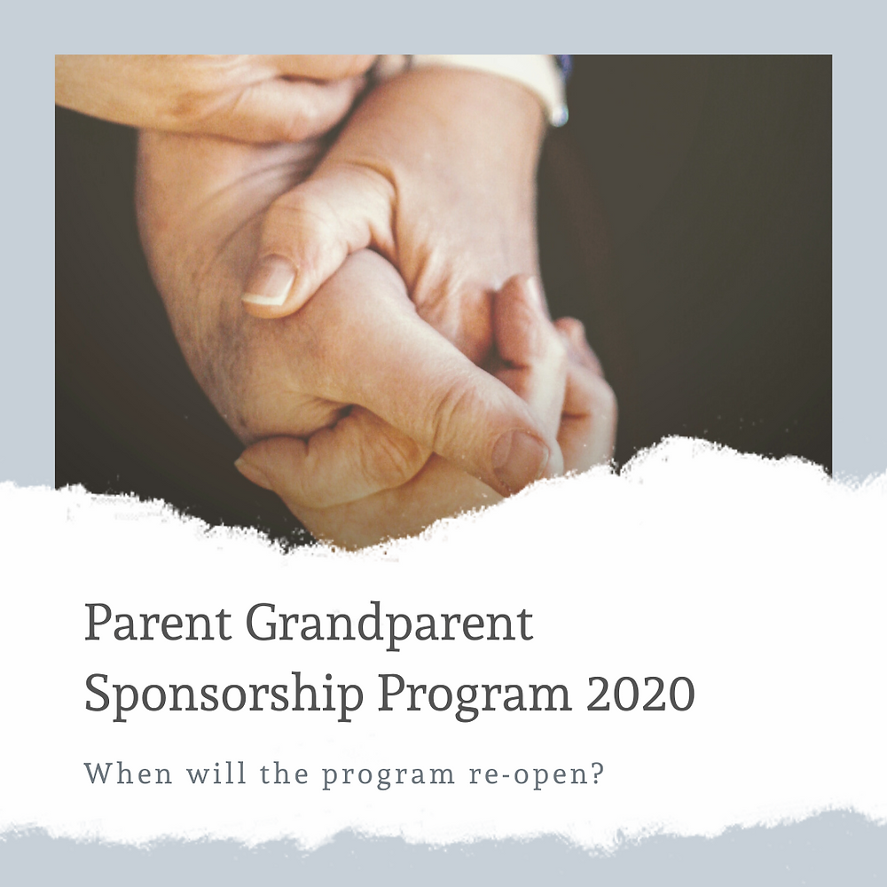 Parent Grandparent Sponsorship Program 2020