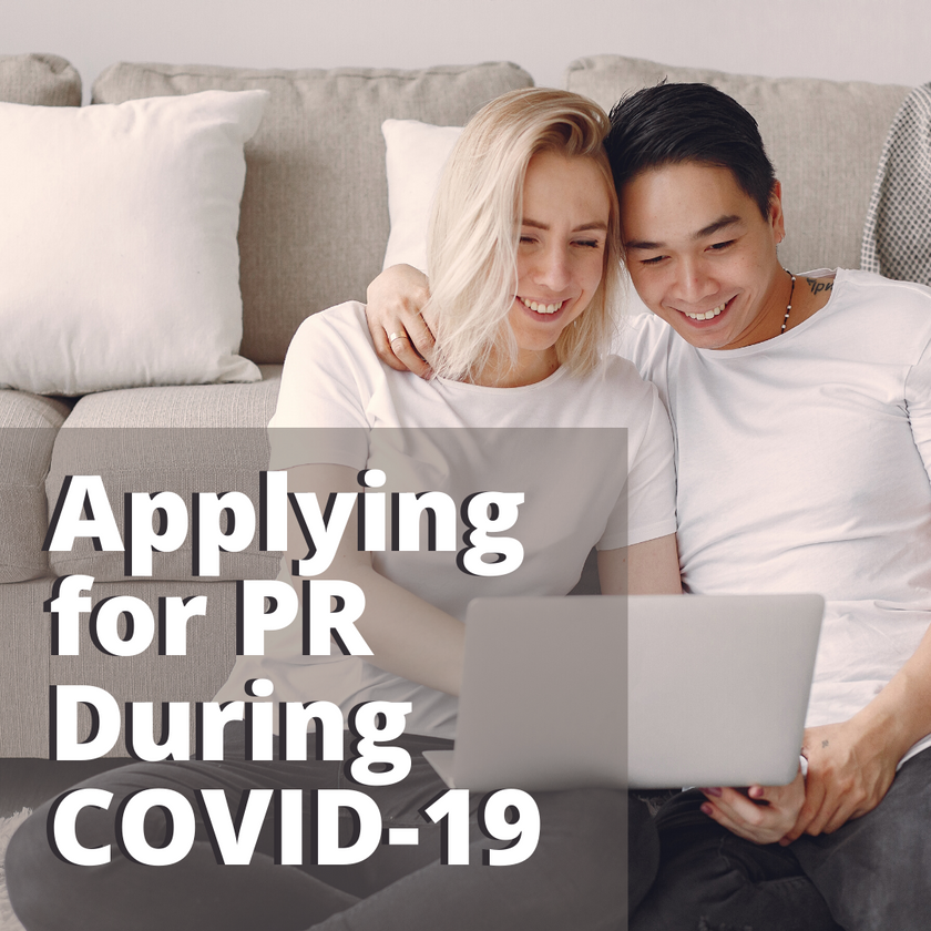 Applying for PR During COVID-1