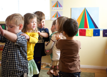 French class at Montessori prek