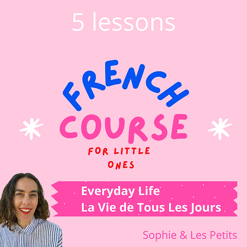 Everyday Life. French Course Download