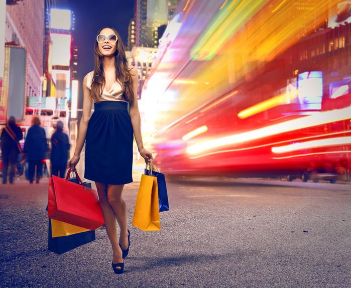 Más del 90% de las compras se realizan en la tienda física