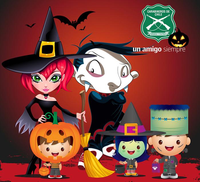 Realidad aumentada y Halloween