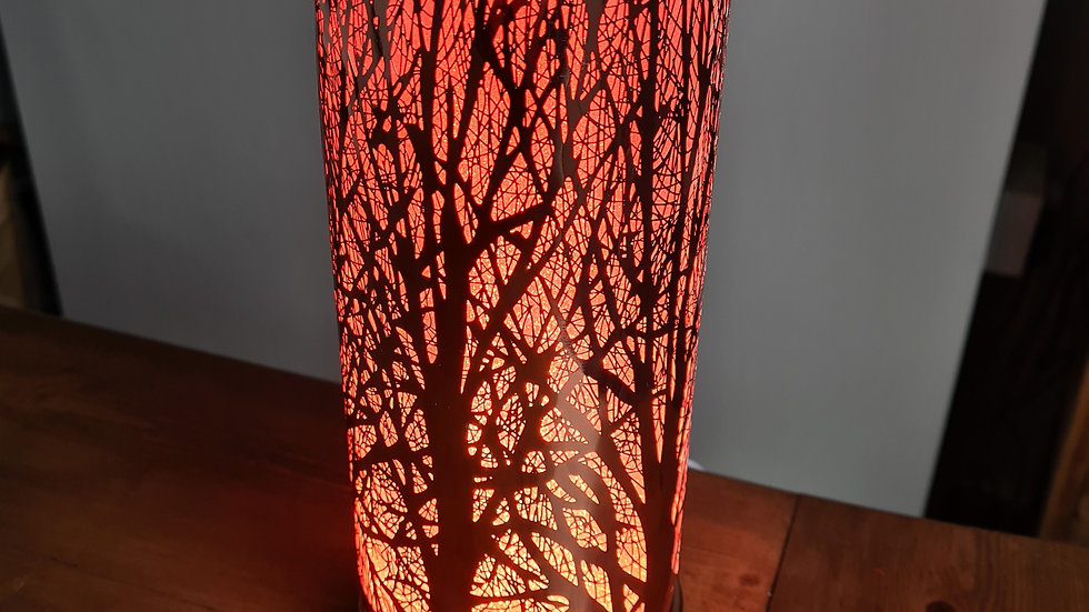 Rose Gold Tree Colour Change Aroma Lamp