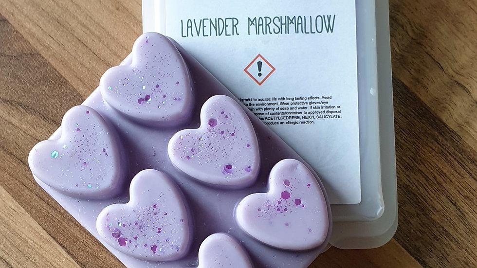 Lavender Marshmallow Clamshell