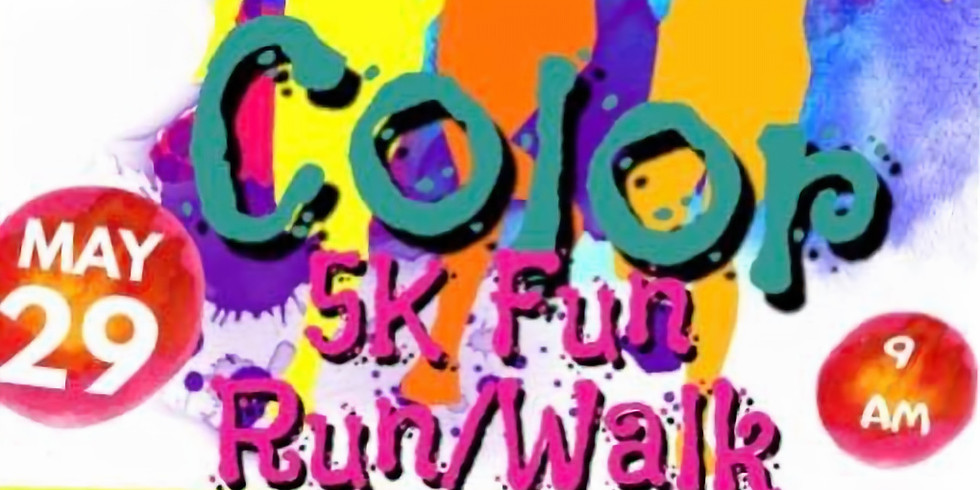 Color 5K Fun Run/Walk Hosted by the Stone County Community Center