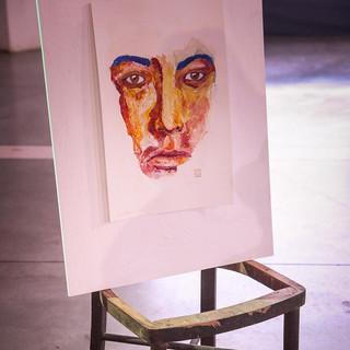 Portrait + Chair, Juan Alberto Asato. Desaparecido.