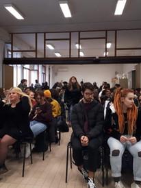 Workshop Liceo Artistico di Treviso, IT.