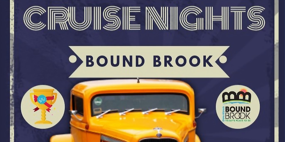 Curb Appeal Car Club Presents: Downtown Bound Brook Car Cruise Nights on Main Street