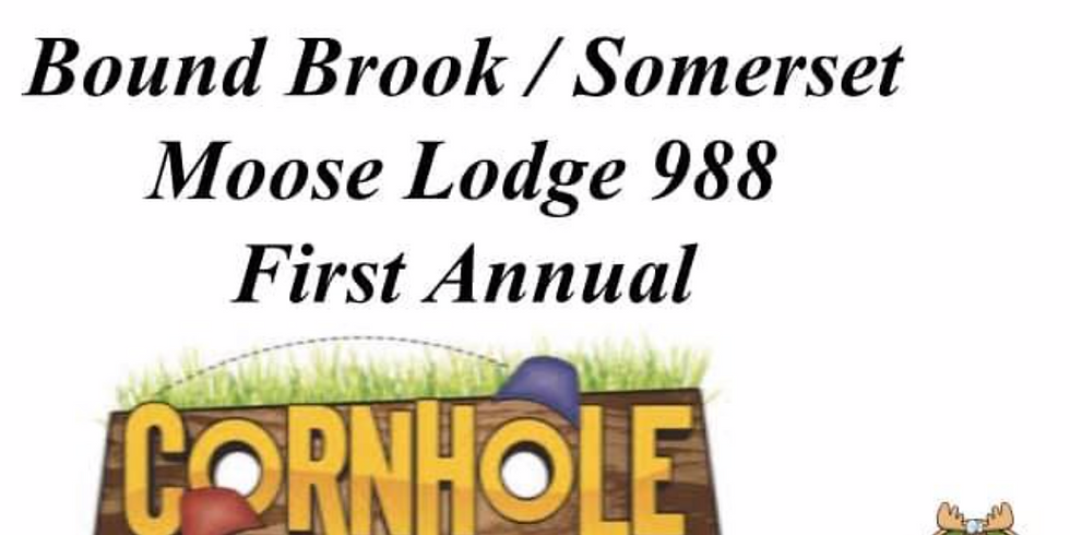 First Annual Cornhole Tournament @ Moose 988