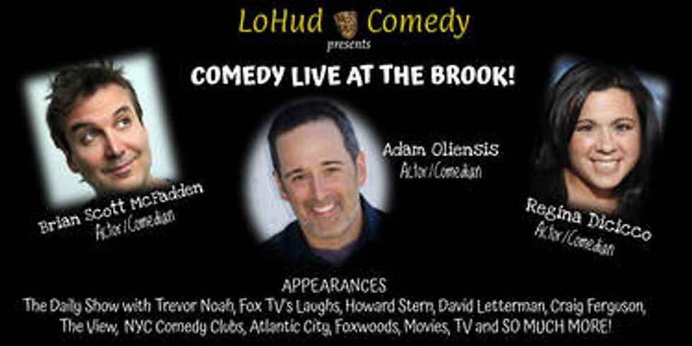 Lohud Comedy with Brian Scott McFadden, Adam Oliensis and Regina Dicicco