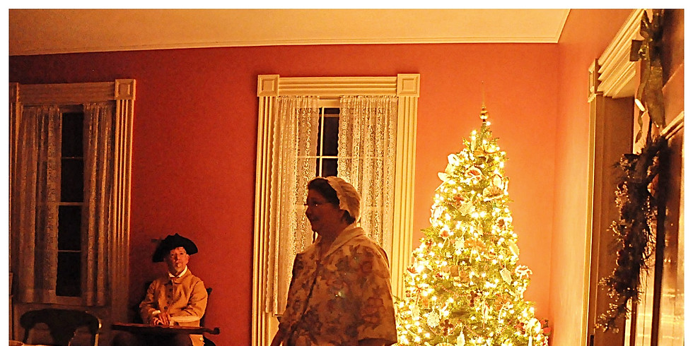 Home for the Holidays: Candlelight Tours @ the Abraham Staats House