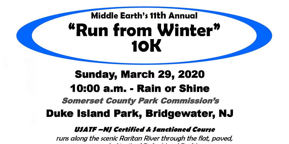 """""""Run From Winter"""" 10K Race @ Duke Island Park (RESCHEDULED TO SEPTEMBER 20TH)"""