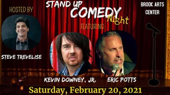 Stand Up Comedy Night Featuring Kevin Downey, Jr. & Eric Potts