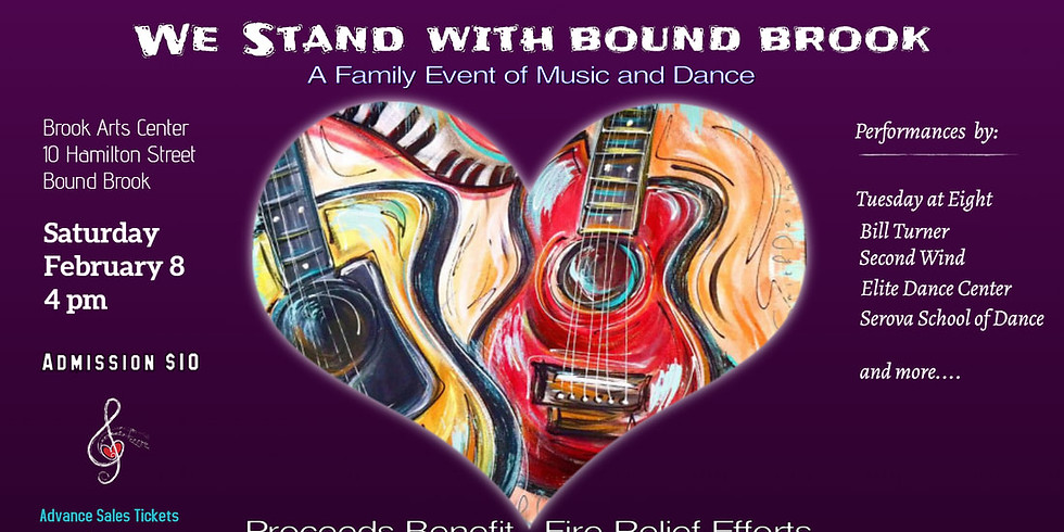 We Stand With Bound Brook: A Family Event of Music and Dance