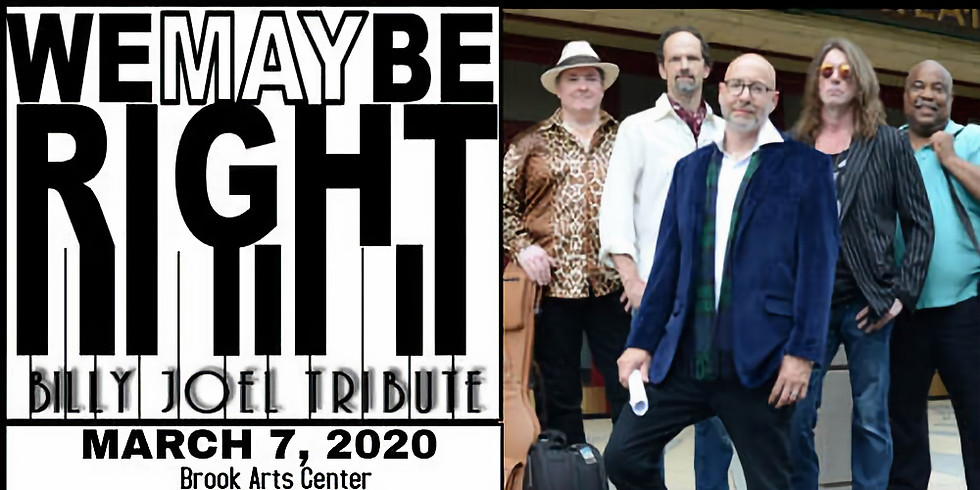 You May Be Right: Billy Joel Tribute