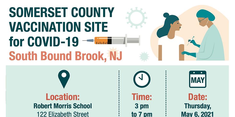 Locale de Vacunación en el Condado de Somerset para COVID-19 | South Bound Brook
