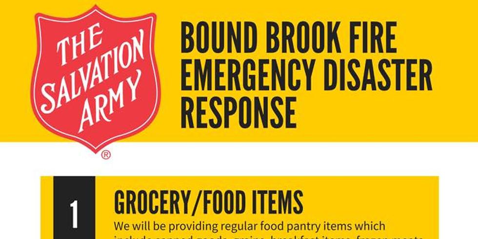 Bound Brook Fire Emergency Disaster Response