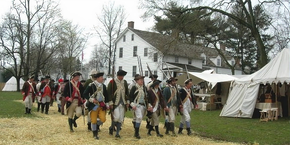 """242th """"Battle of Bound Brook"""" Commemoration"""